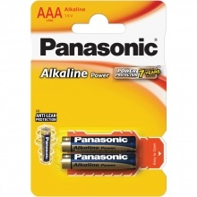Baterie LR03 2BP AAA Alk Power alk PANASONIC, 2ks