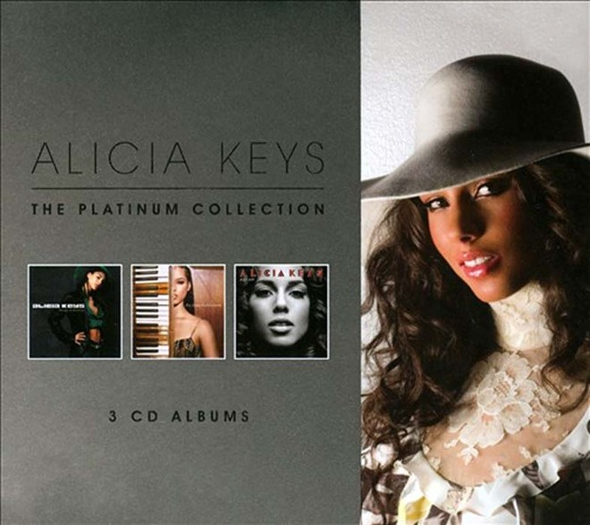 Alicia Keys, The Platinum Collection (Tour Edition), CD