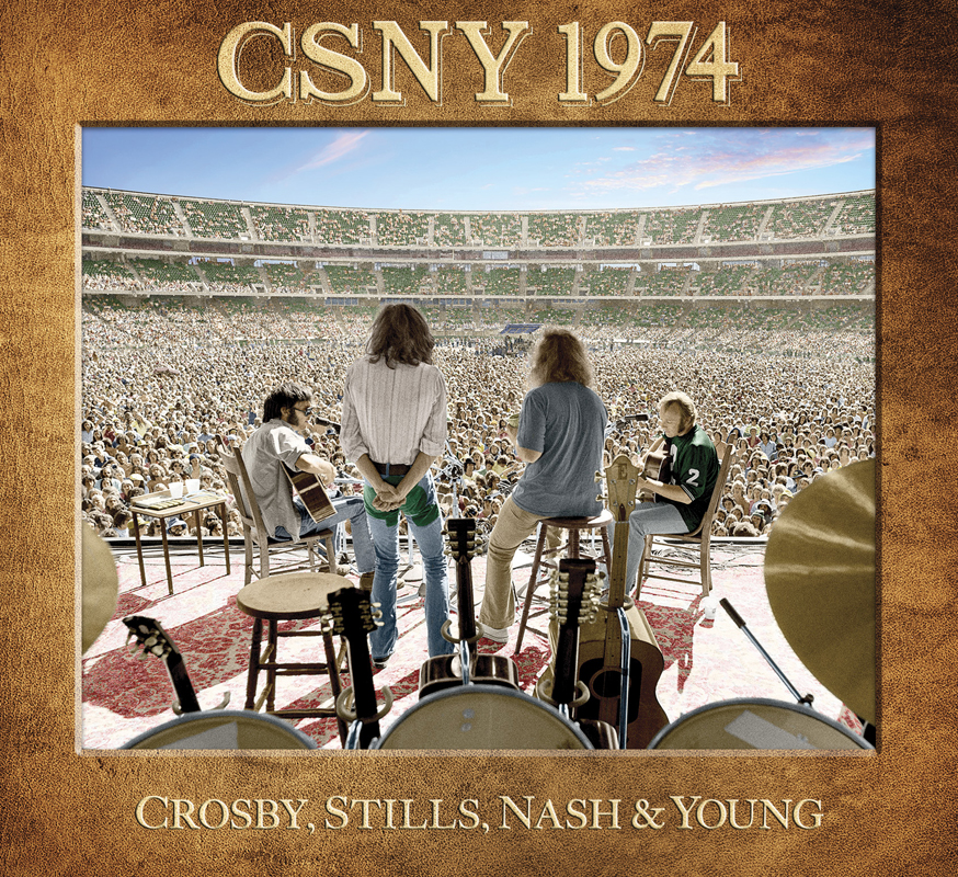 Crosby, Stills, Nash & Young, CSNY 1974, CD