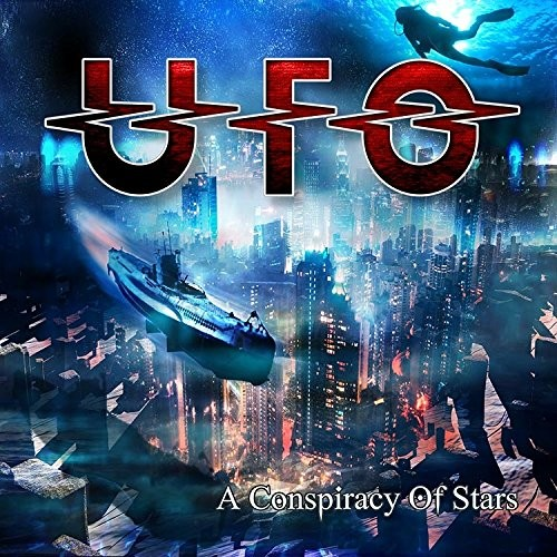 UFO, A Conspiracy Of Stars, CD