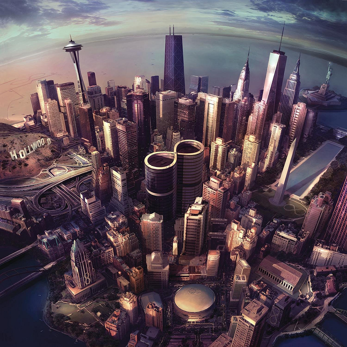 Foo Fighters, Sonic Highways, CD