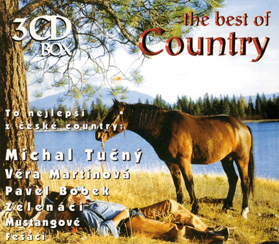 Různí, The Best Of Country / To nej z české country, CD