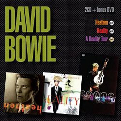 David Bowie, REALITY, HEATHEN, REALITY TOUR, CD+DVD