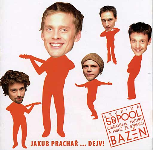 Jakub Prachař & 5 a Pool, Jakub Prachař & 5 a Pool, CD
