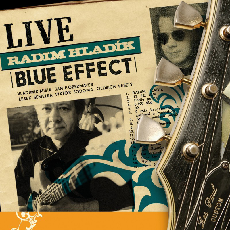 Blue Effect, Live, CD