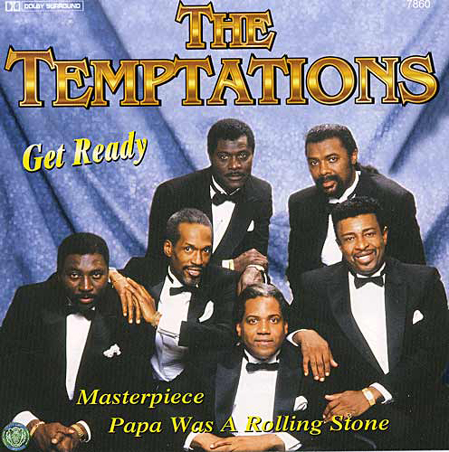 The Temptations, Get Ready , CD