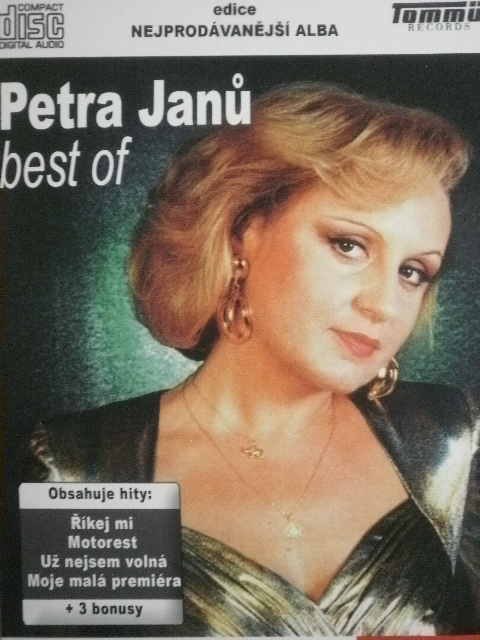 Petra Janů, Best Of, CD pošetka