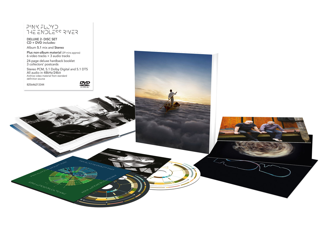 Pink Floyd, Pink Floyd : The Endless River (Deluxe Edition) /DVD Edition/, CD+DVD
