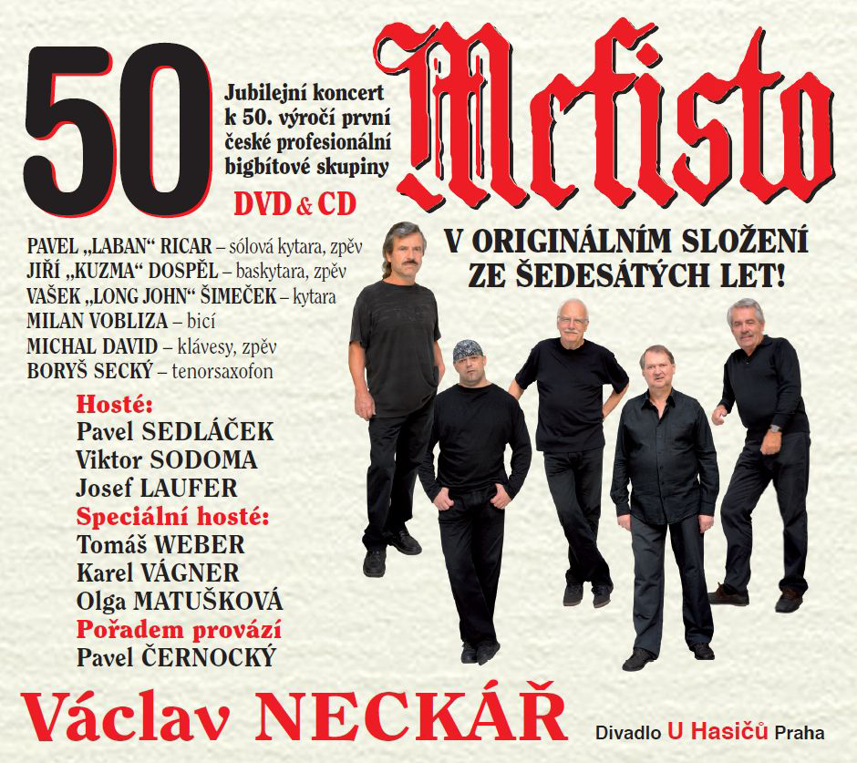 Mefisto, 50 let, CD+DVD