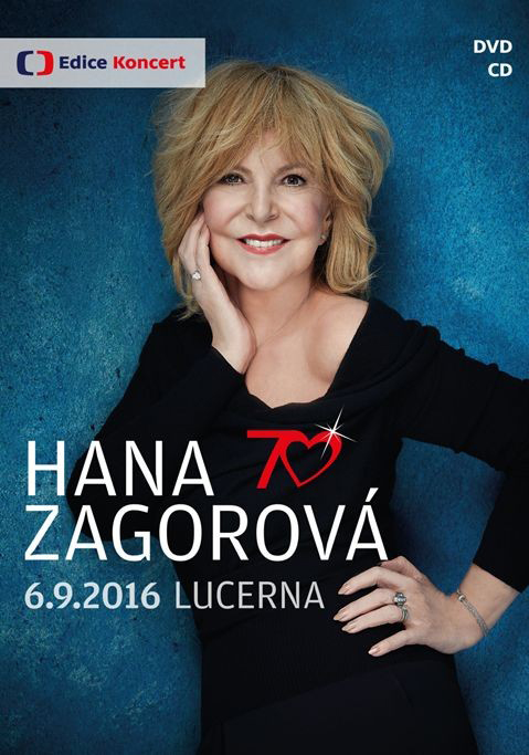 Hana Zagorová, 70, CD+DVD