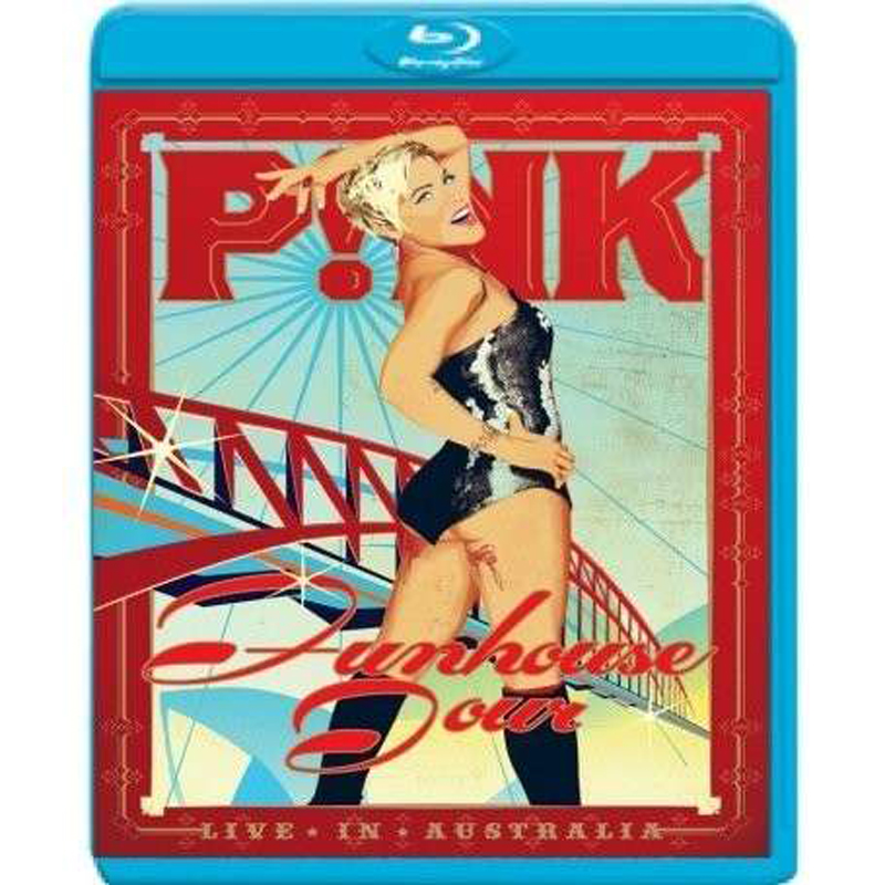 Pink (P!nk), Funhouse Tour: Live In Australia, Blu-ray
