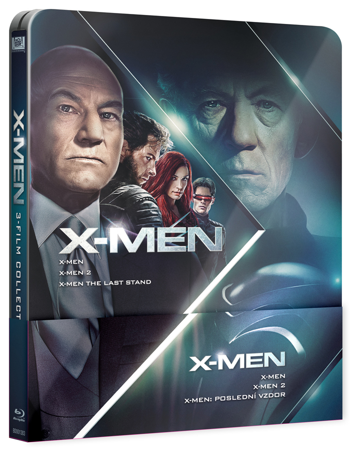 X-MEN Trilogie 1-3 steelbook