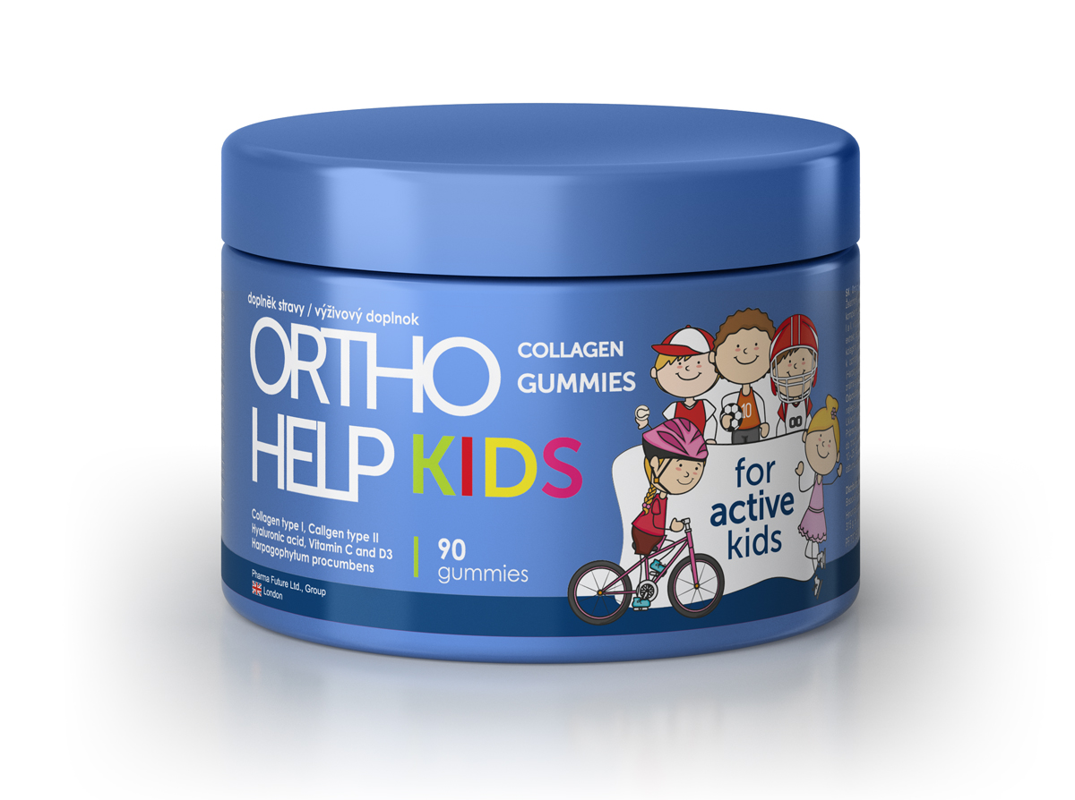 ORTHO HELP Collagen KIDS gummi 90 ks
